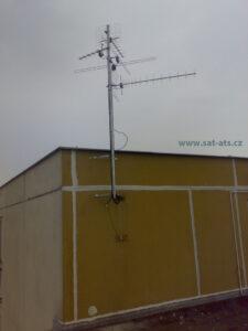 STA anténní stožár Brno Bohunice